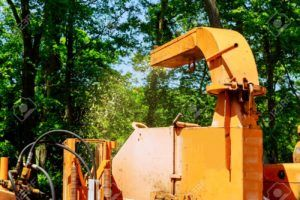 Tree Removal Wood Chipper